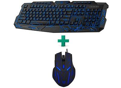 Yenkee Ambush Keyboard & Mouse Combo - Πληκτρολόγιο & Ποντίκι Gaming