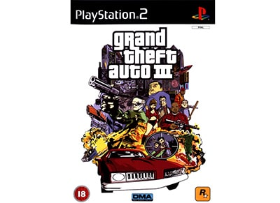 Grand Theft Auto III - PS2 Game gaming   παιχνίδια ανά κονσόλα   ps2