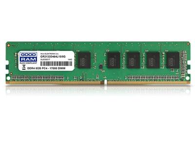 Μνήμη RAM DDR4 8GB 2133 MHz GoodRAM (GR2133D464L15/8G)