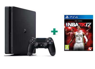 Sony PlayStation 4 - 500GB Slim D Chassis & NBA 2K17