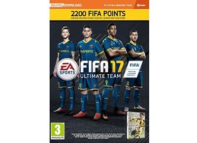 FIFA 17 2200 FUT Points - Prepaid Card gaming   προπληρωμένες κάρτες