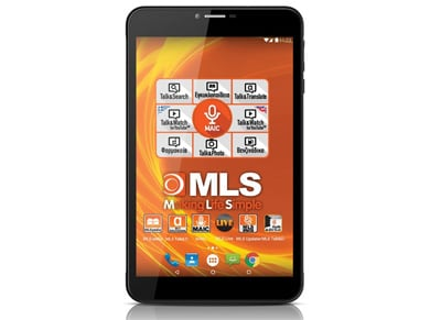 "MLS Jet 3G - Tablet 8"" 3G 16GB Μαύρο"