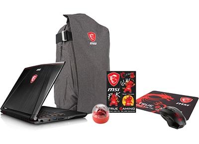 """Laptop MSI GS73VR 6RF-018NL Stealth Pro - 17.3"""" (i7-6700HQ/16GB/ 2TB & 512GB/GTX1060)"""