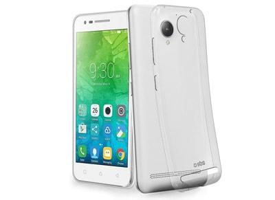 Θήκη & Μεμβράνη Lenovo Vibe C2 - SBS 0.3 Skinny Cover - Διαφανές τηλεφωνία   tablets   αξεσουάρ κινητών   θήκες