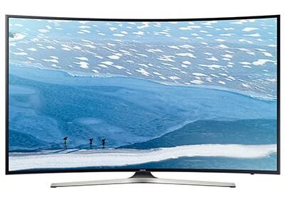 "4K Τηλεόραση Samsung UE55KU6100 55"" Curved Smart LED Ultra HD"