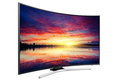 "4K Τηλεόραση Samsung UE49KU6100 49"" Curved Smart LED Ultra HD"