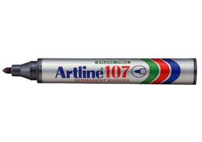 Μαρκαδόρος Ανεξίτηλος Artline 107 Μαύρο