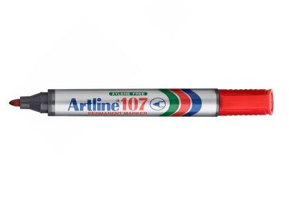 Μαρκαδόρος Ανεξίτηλος Artline 107 Κόκκινο