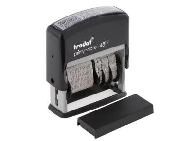 Σφραγίδα Ημερομηνίας & Πολλαπλών Τίτλων - Trodat - 4817
