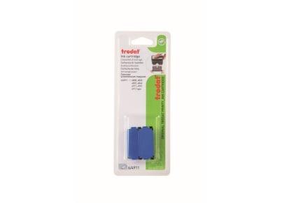 Ταμπόν Σφραγίδας - Trodat - 4911 - Μπλε - Blister - 2 Τεμάχια - 3γραμμών