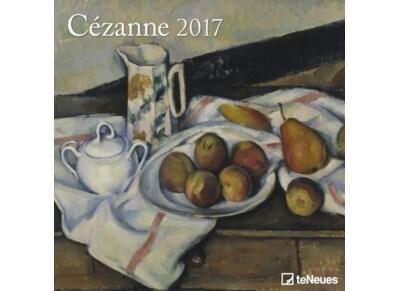 TeNeues Ημερολόγιο 2017 - Cézanne - Τοίχου - Μηνιαίο