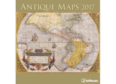 TeNeues Ημερολόγιο 2017 - Antique Maps - Τοίχου - Μηνιαίο