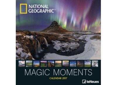 TeNeues Ημερολόγιο 2017 - National Geographic: Magic Moments - Τοίχου - Μηνιαίο