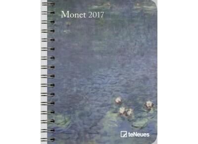 TeNeues Ημερολόγιο 2017 - Claude Monet - Εβδομαδιαίο - Σπιράλ