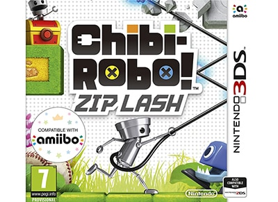 Chibi Robo! Zip Lash - 3DS/2DS Game