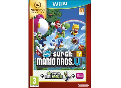 New Super Mario Bros U & Super Luigi U Selects - Wii U Game