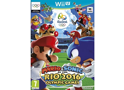 Mario & Sonic at the Rio 2016 Olympic Games - Wii U Game gaming   παιχνίδια ανά κονσόλα   wii u