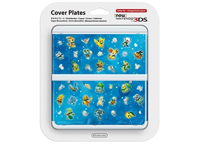 New Nintendo 3DS Coverplate - Pokemon Blue gaming   αξεσουάρ κονσολών   3ds   2ds