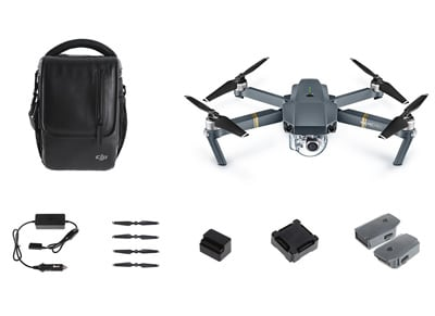 DJI Mavic Pro Fly More Combo Drone - Drone με Κάμερα wearables  drones   hitech   drones   τηλεκατευθυνόμενα   drones