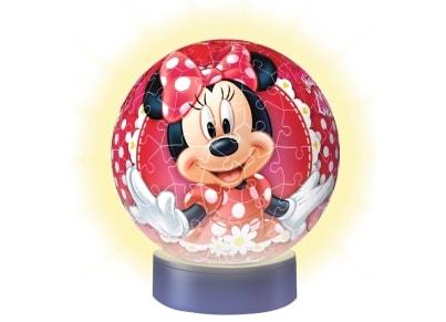 3D Παζλ Minnie Mouse Μπαλαλάμπα Τρέλα - Ravensburger - 108 Κομμάτια