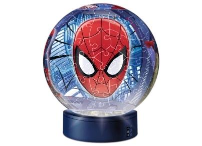 3D Puzzle Ravensburger Μπαλαλάμπα Τρέλα Spiderman (12256) - 108 κομμάτια