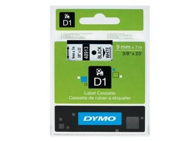 Κασέτα Ετικετογράφου Dymo - Λευκή - 9mm x 7m