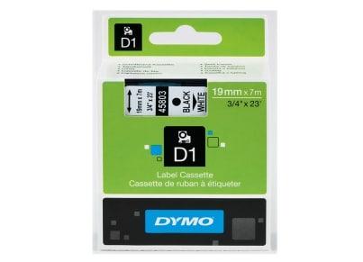 Κασέτα Ετικετογράφου Dymo - Λευκή - 19mm x 7m