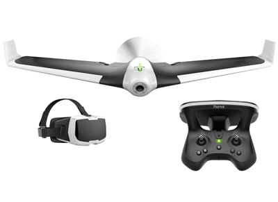 Parrot Disco Drone FPV Pack - Drone με κάμερα, Χειριστήριο & CockpitGlasses Λευκ wearables  drones   hitech   drones   τηλεκατευθυνόμενα   drones