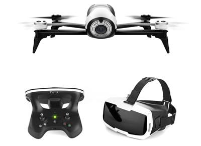 Parrot Bebop 2 Drone FPV Pack - Mini Drone με κάμερα, Χειριστήριο & CockpitGlass wearables  drones   hitech   drones   τηλεκατευθυνόμενα   drones