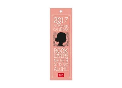 Legami Ημερολόγιο Σελιδοδείκτης Book Lovers 2017 - Μηνιαίο