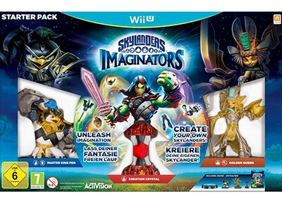 Skylanders Imaginators Starter Pack - Wii U Game