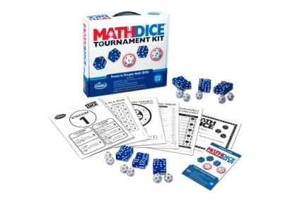 Επιτραπέζιο Σετ Math Dice Tournament Kit