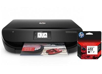 HP DeskJet Ink Advantage 4535 - Έγχρωμο Πολυμηχάνημα Inkjet & Δώρο μαύρο HP μελάνι