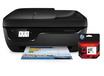 HP DeskJet Ink Advantage 3835 - Έγχρωμο Πολυμηχάνημα Inkjet Α4 & Δώρο μαύρο HP μελάνι