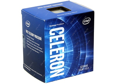 Επεξεργαστής Intel Celeron G3900  (LGA1151/2.8 GHz/2 MB Cache/HD 510)