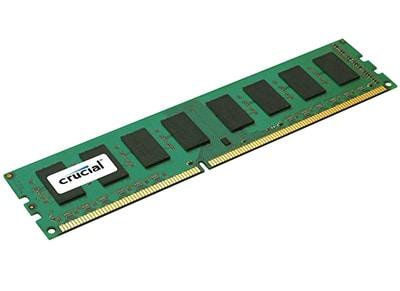 Μνήμη RAM DDR3 8 GB 1600 MHz Crucial - DDR3L-1600 UDIMM (CT102464BD160B)