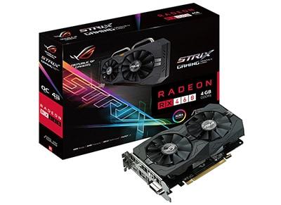 Κάρτα γραφικών ASUS ROG Strix Radeon RX 460 OC edition 4GB GDDR5 - GAMING - (90YV09L3-M0NA00)