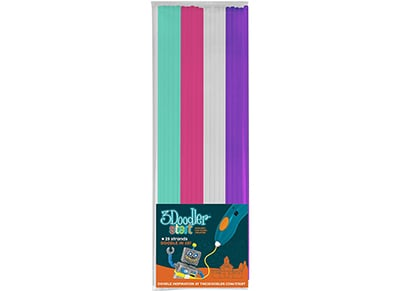 3Doodler Start Plastic Fire & Ice 24 Strands Mix
