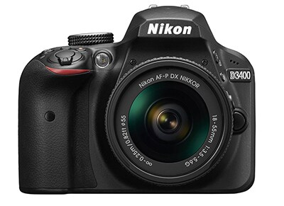 DSLR Nikon D3400 Body Wireless & AF-P 18-55 VR - Μαύρο