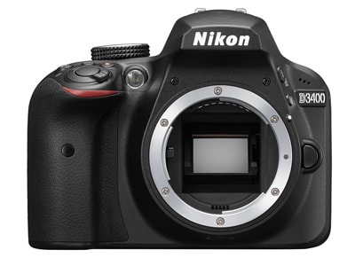 DSLR Nikon D3400 Body Wireless - Μαύρο