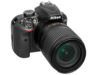 DSLR Nikon D3400 Body Wireless & 18-105 VR - Μαύρο