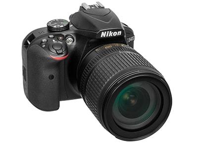 DSLR Nikon D3400 Body Wireless & 18-105 VR - Μαύρο