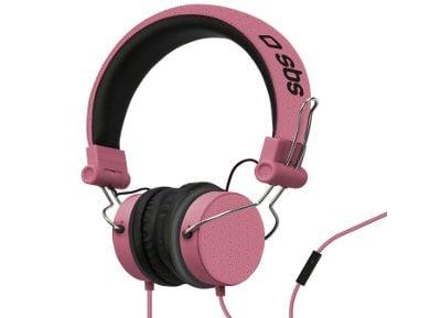 Ακουστικά Κεφαλής SBS Studio Mix Ροζ