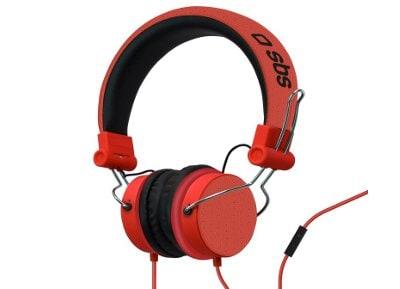 Ακουστικά Κεφαλής SBS Studio Mix Κόκκινο