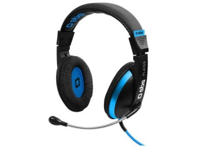 SBS Stereo Headphones for Gaming - Gaming Headset Μαύρο gaming   αξεσουάρ pc gaming   gaming headsets