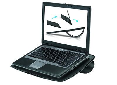 """Βάση Laptop 15.4"""" Fellowes GoRiser 8030402 Μαύρο"""