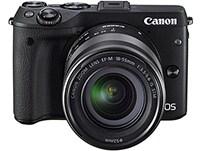 Mirrorless Camera Canon EOS M3 15-45mm Kit - Μαύρο