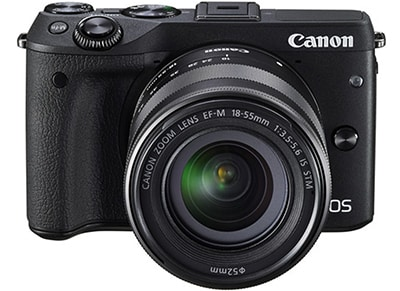Mirrorless Camera Canon EOS M3 15-45mm Kit - Μαύρο