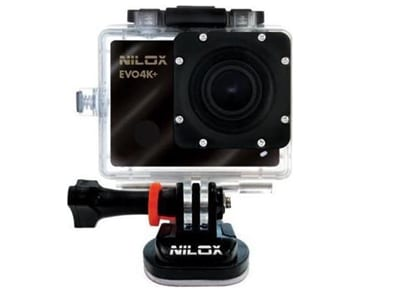 Action Cam Nilox Evo 4K+ WiFi Μαύρο