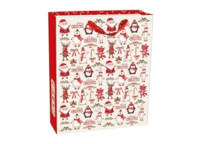 Χριστουγεννιάτικη Τσάντα Δώρου Large Legami